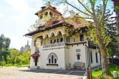 全国美术馆-布加勒斯特,罗马尼亚- 04 05 2019? 免版税库存图片