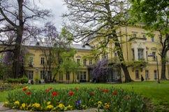 全国美术画廊在索非亚,保加利亚 免版税图库摄影