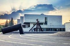 全国美术画廊 免版税库存照片