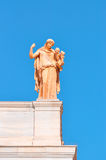 全国考古学博物馆在雅典,希腊。雕塑 库存图片