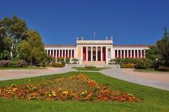 全国考古学博物馆在雅典 免版税库存图片