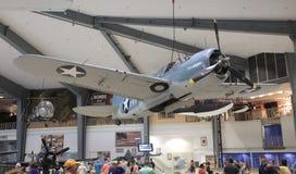 全国航空博物馆展览,彭萨科拉,佛罗里达 免版税库存图片