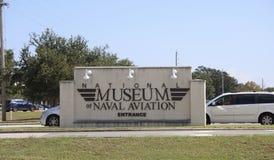 全国航空博物馆,彭萨科拉,佛罗里达 免版税图库摄影