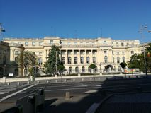 全国艺术馆在布加勒斯特 免版税图库摄影