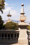 全国艺术馆雕塑,巴塞罗那 免版税库存照片