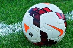 全国英格兰足球联赛冠军的正式球 免版税图库摄影