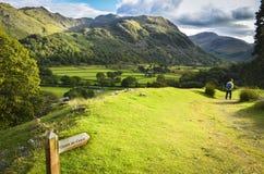 全国范围足迹,英国 免版税库存图片