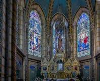 全国誓愿的大教堂在基多,厄瓜多尔 图库摄影
