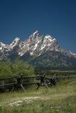 全国越野障碍赛马公园teton 免版税图库摄影