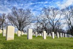 全国退伍军人公墓在诺克斯维尔田纳西 免版税库存照片