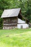 全国阿斯特拉博物馆在锡比乌-老传统房子(许多样式和形式) 免版税库存照片