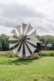 全国阿斯特拉博物馆在锡比乌-老风车 库存照片