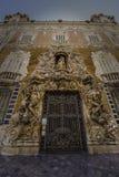 全国陶瓷博物馆巴伦西亚的门面 免版税库存图片