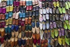 全国鞋子在摩洛哥 库存照片