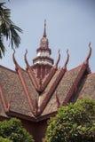 全国;博物馆金边柬埔寨 免版税库存图片