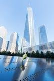 全国9月11日纪念品在更低的曼哈顿,纽约 库存照片
