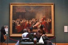 全国画象画廊伦敦 免版税库存图片