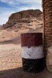全国coulors桶,埃及 免版税库存照片