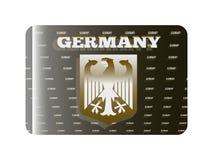 全息照相的贴纸德国 图库摄影