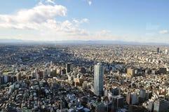 全景东京 免版税库存图片