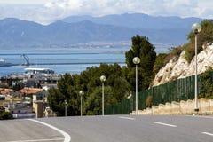 全景卡利亚里- Sardegna 免版税库存照片