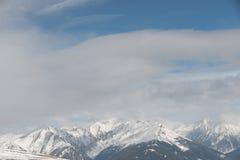 全景在阿尔卑斯 库存图片