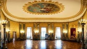 全景在Christiansborg宫殿 免版税库存照片
