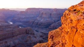 全景大峡谷亚利桑那 免版税图库摄影