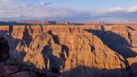 全景大峡谷亚利桑那 库存照片