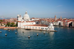 全景威尼斯,意大利- 24 04 2016年 免版税库存图片