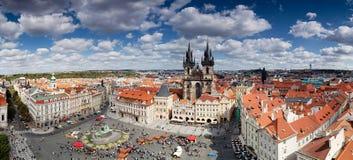 全景布拉格 免版税图库摄影