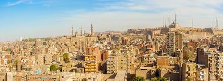 全景开罗,埃及 库存图片