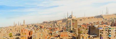 全景开罗,埃及 库存照片