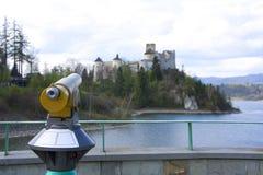 全景望远镜 库存图片