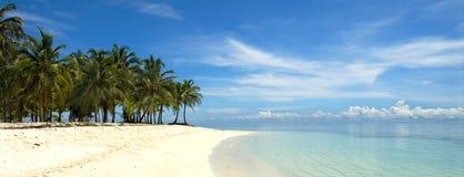 全景的海岛 免版税图库摄影