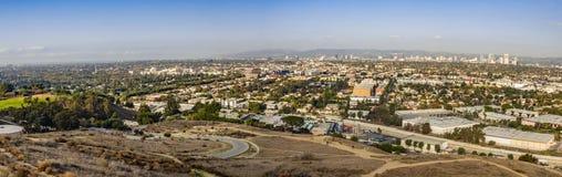 全景的都市风景 库存图片