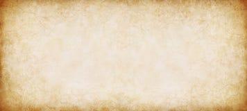 全景纸葡萄酒 免版税库存图片