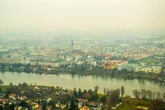 全景维也纳 库存图片