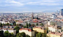 全景维也纳 免版税图库摄影