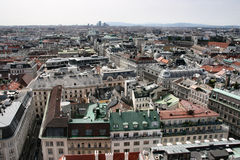 全景维也纳 库存照片