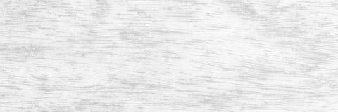 全景老白色木纹理 库存图片