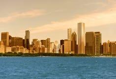 全景芝加哥 免版税库存照片
