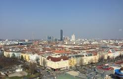 全景维也纳 免版税库存图片