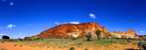 全景-彩虹谷,南部的北方领土,澳大利亚 免版税库存图片