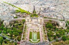 巴黎全景 库存照片