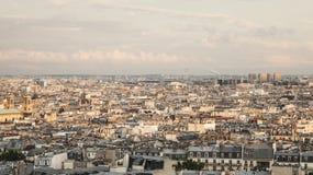 巴黎-全景 免版税库存照片