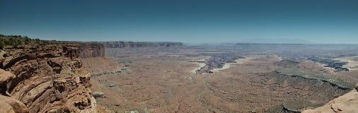 全景Canyonlands 免版税图库摄影