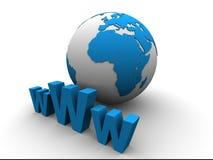 全球互联网 图库摄影