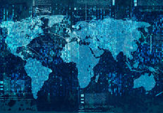 全球交往 免版税库存照片