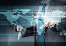 全球交往 免版税图库摄影